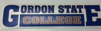 Car Decal: Gordon State College
