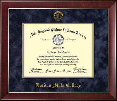 Graduation Diploma Frame Wide Trim   Gordon State College Bookstore