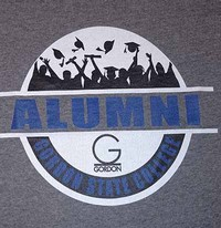 Alumni Circle Design Tee Shirt