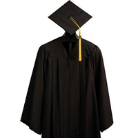 Student Cap & Gown (includes Tassel)