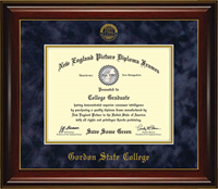 Diploma Frame Narrow Trim 2014-Spring 2019