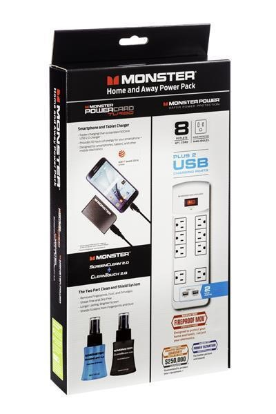 Power Pack Bundle Monster Home And Away (SKU 1038470129)
