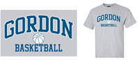 Tee Shirt Gordon Over  Basketball