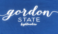 Tee Shirt Script Gsc Over Gordon State C